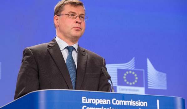 Kommisjonens visepresident Valdis Dombrovskis (foto: Europakommisjonen)