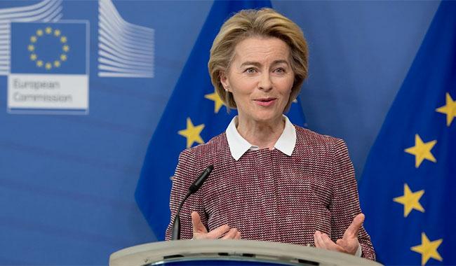 President Ursula von der Layen (foto: Europakommisjonen)
